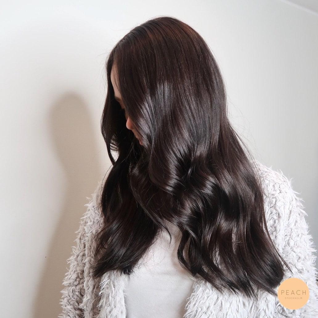 kallmörkbrunhårfärg