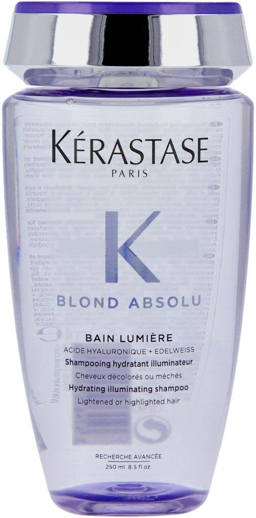 kerastase bain lumiere blonde shampoo
