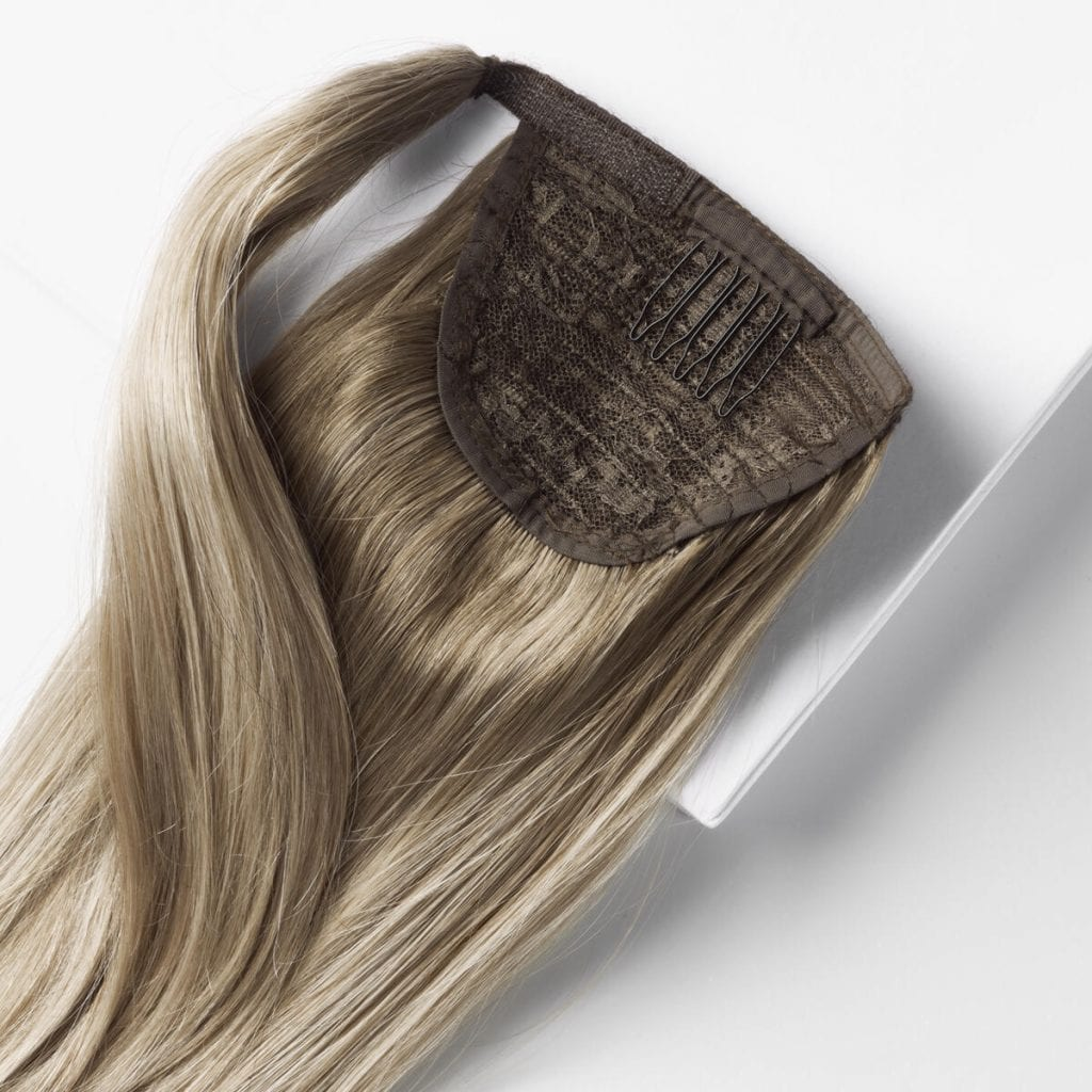clip in ponytail detail