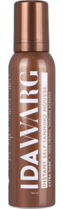 ida warg brun utan sol instant self tanning mousse extra dark 150 ml
