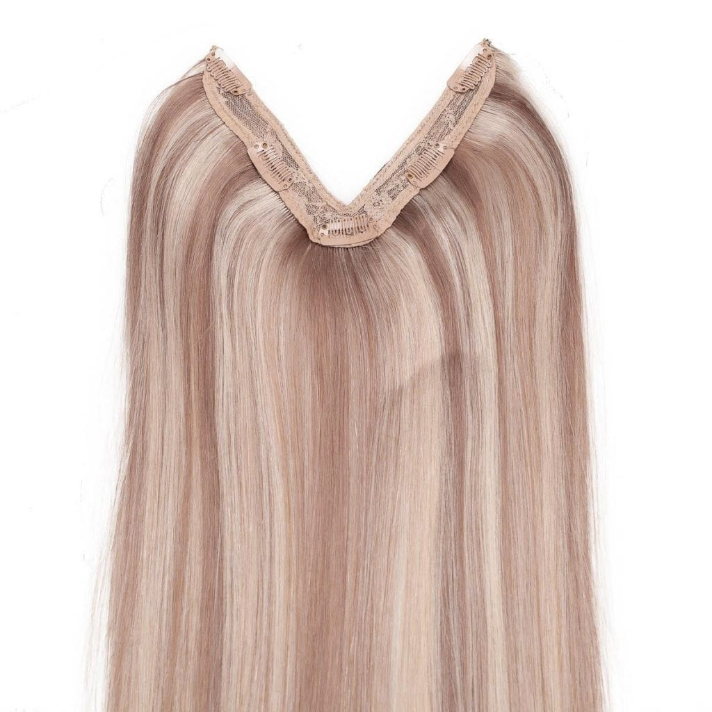 rapunzel easy clip in m73108 cendre ash blonde mix 50cm 0 f169