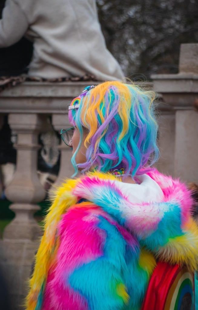 vårens hårfärger