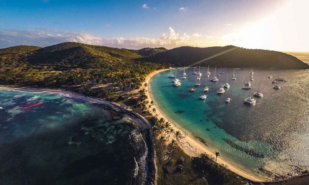 segla i karibien seglingsresa