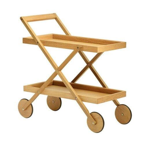 serveringsvagn trä